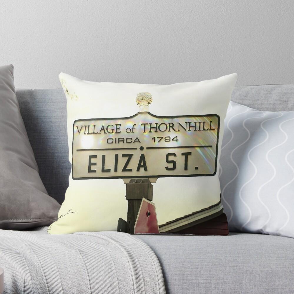 ElizaStreetThornhill Throw Pillow