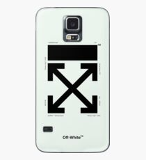 Off-White Arrows Temperature (Teal) (Updated) Case/Skin for Samsung Galaxy