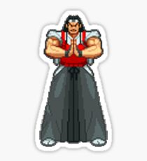 Capcom vs SNK 2 - Ryuhaku Todoh Sticker