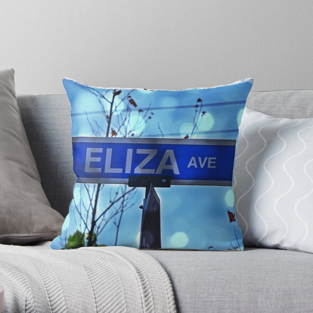 ElizaAve Throw Pillow