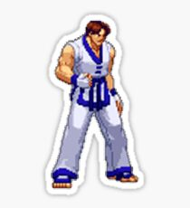 Capcom vs SNK 2 - Kim Kaphwan Sticker