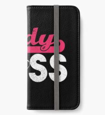 Lady Boss iPhone Flip-Case/Hülle/Skin