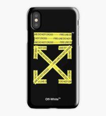 Off-White Firetape Arrows iPhone Case