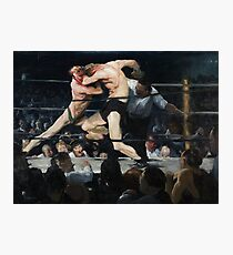 Stag at Sharkey's - George Bellows Photographic Print