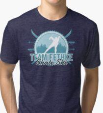 Team Fethke Skate Ski Tri-blend T-Shirt