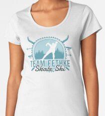 Team Fethke Skate Ski Premium Scoop T-Shirt