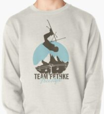 Team Fethke: Freestyle (Brown/Blue) Pullover Sweatshirt