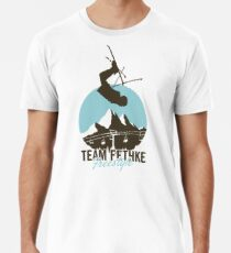Team Fethke: Freestyle (Brown/Blue) Premium T-Shirt