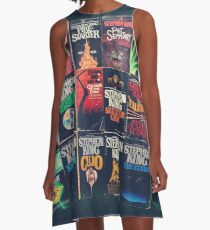 Stephen King Book Fronts A-Line Dress