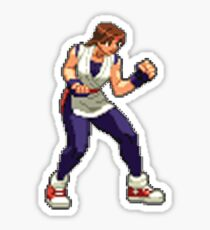 Capcom vs SNK 2 - Yuri Sakazaki  Sticker
