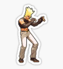 Capcom vs SNK 2 - Benimaru Nikaido Sticker