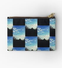 Hot Air Balloons in suburbia Studio Pouch