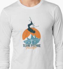 Team Fethke: Freestyle (Orange/Blue) Long Sleeve T-Shirt