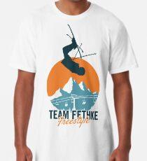 Team Fethke: Freestyle (Orange/Blue) Long T-Shirt