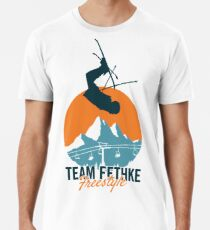 Team Fethke: Freestyle (Orange/Blue) Premium T-Shirt