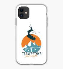 Team Fethke: Freestyle (Orange/Blue) iPhone Case
