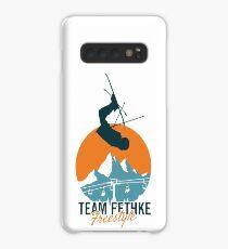 Team Fethke: Freestyle (Orange/Blue) Case/Skin for Samsung Galaxy