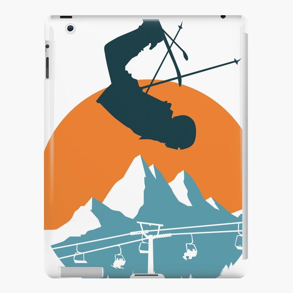 Team Fethke: Freestyle (Orange/Blue) iPad Snap Case