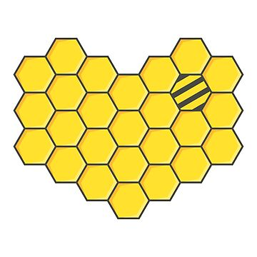 Honeycomb and Bee 2 by animinimal