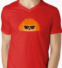 Sedgewick Rocking Orange Orbison Men's V-Neck T-Shirt