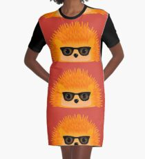 Sedgewick Rocking Orange Orbison Graphic T-Shirt Dress