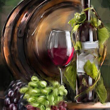 Wine Cellar by MelannieD