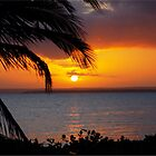 AFRICAN SUNSET - MOZAMBIQUE by Magriet Meintjes