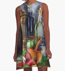 Salad Dressing A-Line Dress