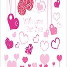 Love Hearts by t0nialar