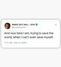 Xxxtentacion tweet Sticker