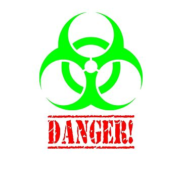 Sweaty T-shirt Bio Fluids Absorption Unit Handle with Care by CliqueBank