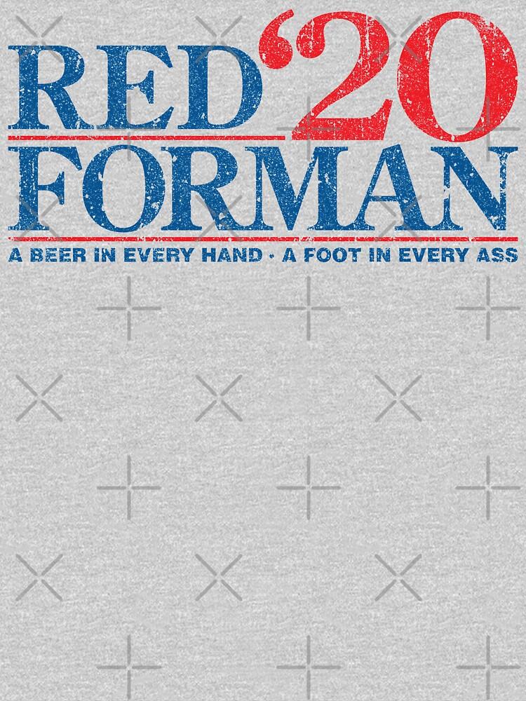Red Forman 2020 de huckblade