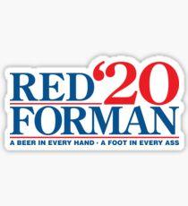 Pegatina Red Forman 2020