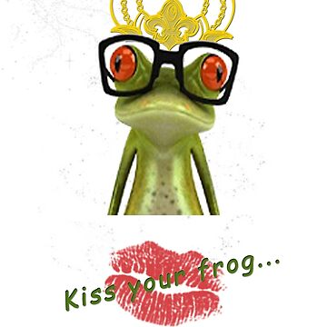 Kiss your frog by t0nialar