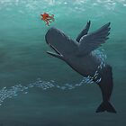 weightless whale by concretekissed