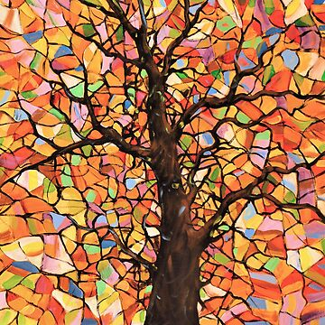 Tree Stained Glass by GuyBlank