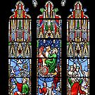 Cathedral Stained Glass 2 by GuyBlank
