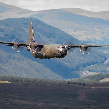 Lockheed Martin C-130J-30 Hercules C4 (ZH872) by stevesimages1
