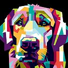 Cute Colorful Dog by Twosided