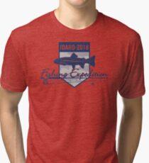 Idaho 2018 Fishing Expedition Tri-blend T-Shirt