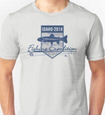 Idaho 2018 Fishing Expedition Slim Fit T-Shirt