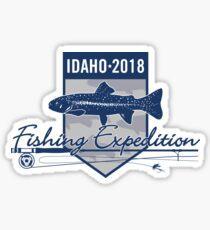 Idaho 2018 Fishing Expedition Sticker