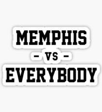 Memphis vs Everybody Sticker