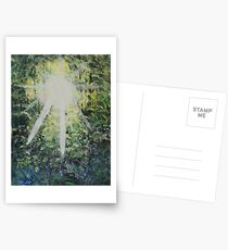 The light of hope. Postcards