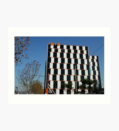 1010 building, Docklands Melbourne Art Print