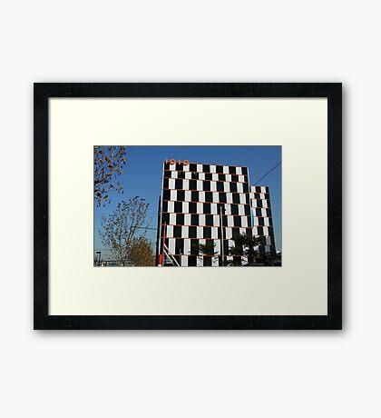 1010 building, Docklands Melbourne Framed Print