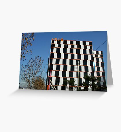 1010 building, Docklands Melbourne Greeting Card