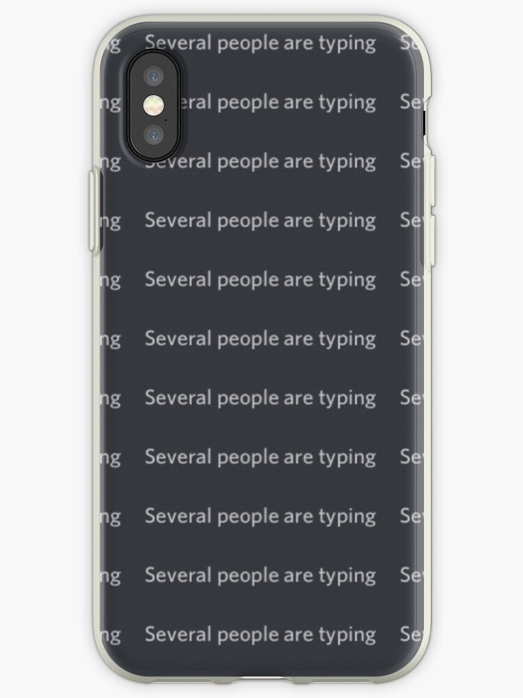 several people are typing meme iphone cases covers by carou