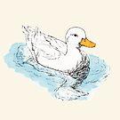 White Duck by Dan Tabata