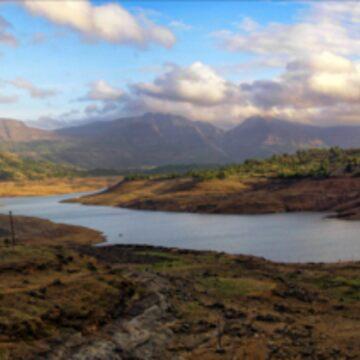 Arthur lake panorama:: Bigger and Wide screen (full view) by tridibghosh
